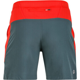 Marmot M's Regulator Shorts Dark Zinc/Scarlet Red